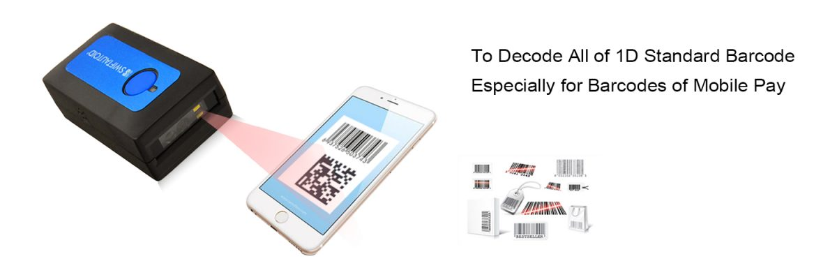 Bluetooth Barcode Scanner SA BT170 Android Barcode Scanner